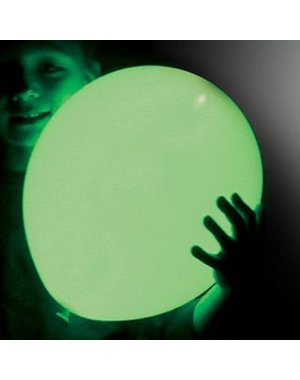 Ballonnen Groen LED - 5stk