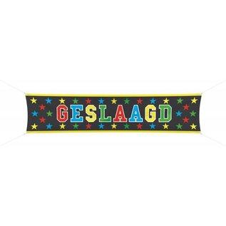 Groot Geslaagd Spandoek Banner Prismatisch
