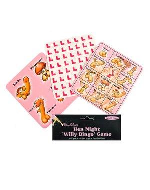 Willy Piemel Bingo Spelletje