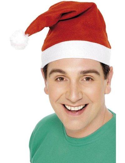 Fleece Kerstmuts Kerstman