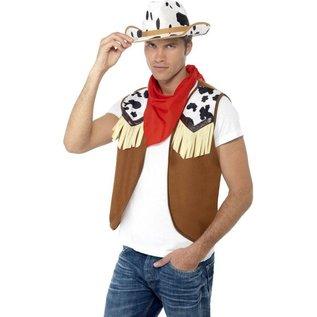 Wild West Cowboy Heren Verkleedsetje