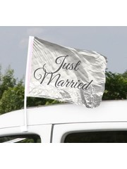 Just Married 2 Autovlaggen