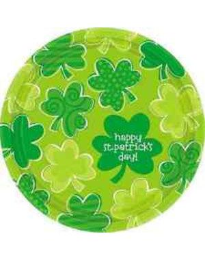 18x Happy St. Patrick's Day Shamrock Borden