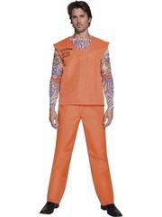 Oranje Gedetineerde Boef Heren Kostuum