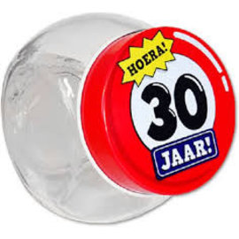 Candy Jar 30 Jaar