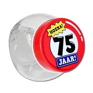 Candy Jar Snoeppot 75 Jaar