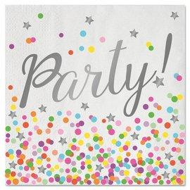 Confetti Party Servetten