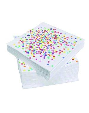 Confetti Servetten 20stuks
