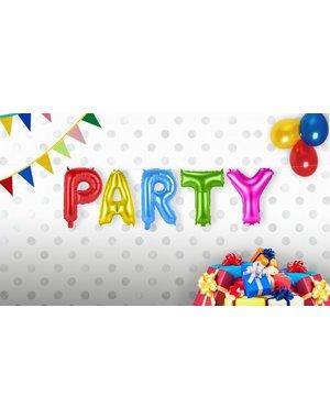 PARTY foileballonnen set