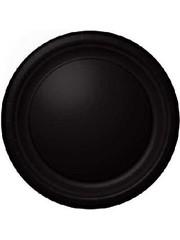 8x Zwarte Weggooi Bordjes