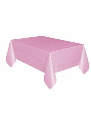 Baby Roze Plastic Tafelkleed