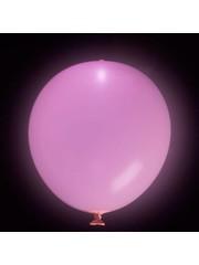 Ballonnen Fuchsia LED - 5stk