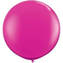 Fuchsia 90cm Top Helium Ballon XL