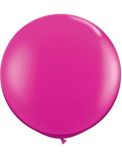 Topballon Fuchsia Roze XL - 90cm