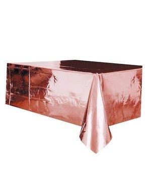 Rosé Gouden Plastic Tafelkleed
