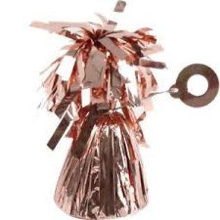 Rosé Gouden Metallic Folie Helium Ballon gewicht