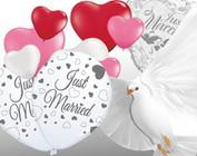 Ballonnen met Liefdes Printjes