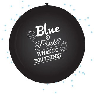 Blue or Pink What do you Think Ballon Gender Reveal