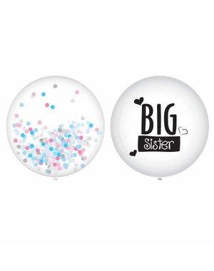 Big Sister XL Ballonnen 2 stuks