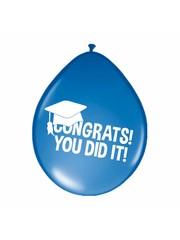 Congrats! You did it! Geslaagd Ballonnen