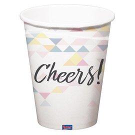 Holografische iridescent Cheers Bekers