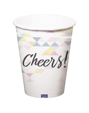 Holografische iridescent Cheers Bekers