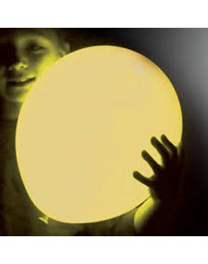 Ballonnen Geel LED - 5stk