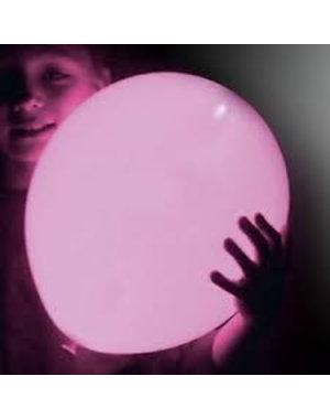 Ballonnen Roze LED - 5stk