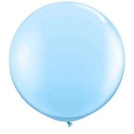 Lichtblauwe 90cm Top Helium Ballon XL