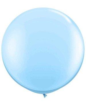 Topballon Licht Blauw XL - 90cm
