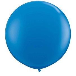 Blauwe  90cm Top Helium Ballon XL