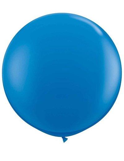 Topballon Blauw XL - 90cm