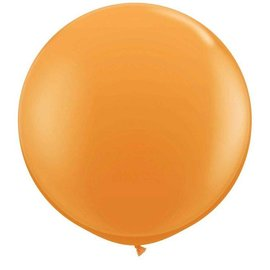 Oranje 90cm Top Helium Ballon XL