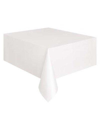 Wit Plastic Tafelkleed