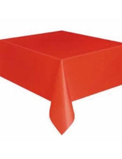 Tafelkleed Rood - 180x130cm