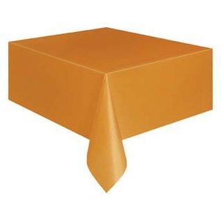 Oranje Plastic Tafelkleed 180x130cm