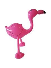 Roze Opblaasbare Flamingo 60cm