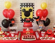 Mickey & Minnie Mouse Feestje