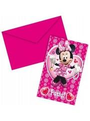 Minnie Mouse Uitnodigingen