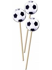 Grote Voetbal Prikkers Stokjes