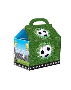 Voetbal uitdeeldoosjes 4 stuks