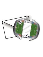 Voetbal Uitnodigingen