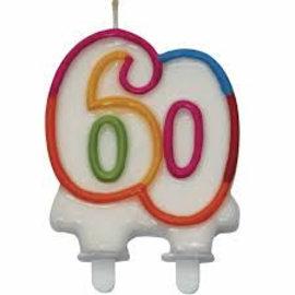 60 jaar kaars