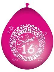 Roze Sweet 16 Ballonnen