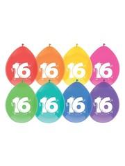 Gekleurde 16 jaar Ballonnen