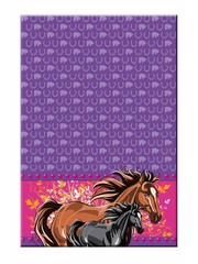 I love horses Paarden Tafelkleed