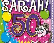 versiering 50 jaar sarah Leuke versiering decoratie voor Sarah Abraham   Feestperpost versiering 50 jaar sarah