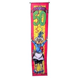 Grote Sarah 50 jaar Banier Banner