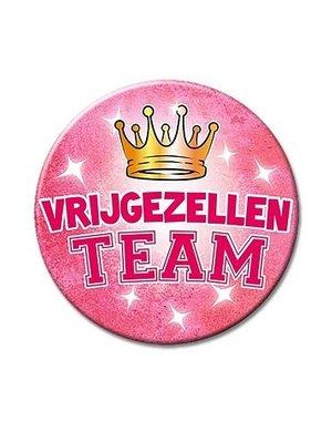 Roze Vrijgezellen team button