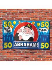 Abraham 50 jaar XXL Gevelvlag